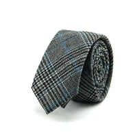 Mantieqingway 6cm Mens Suits Wool Necktie Ties Formal Business Tie Skinny Cotton Neck Tie Plaid Wedding Bow Ties Gravatas Cravat
