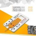Новая пластиковая линейка протектора 0-20 мм  штангенциркуль для глубины шины  портативный измеритель 0 1 мм  точное давление автомобильного к...