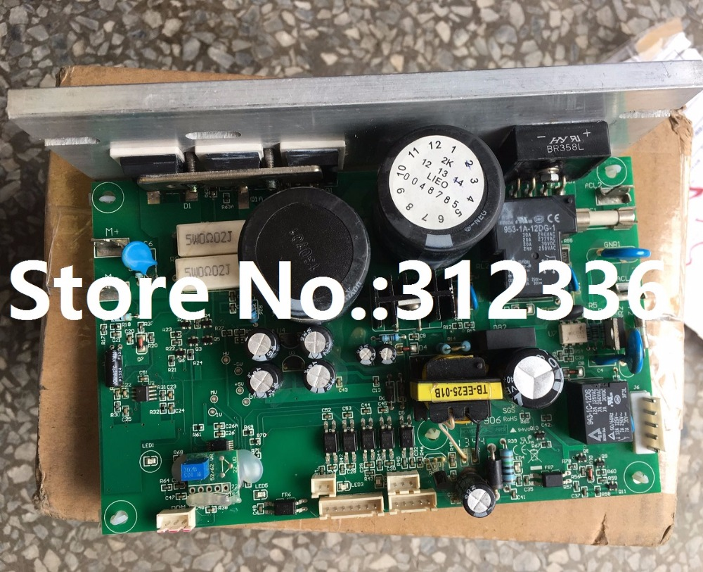 Free Shipping Motor Controller Control panel driver board treadmill circuit board motherboard suit for the more treadmill wire feeder control panel board nbc350 500 igbt module control gas welding motherboard repair replacement
