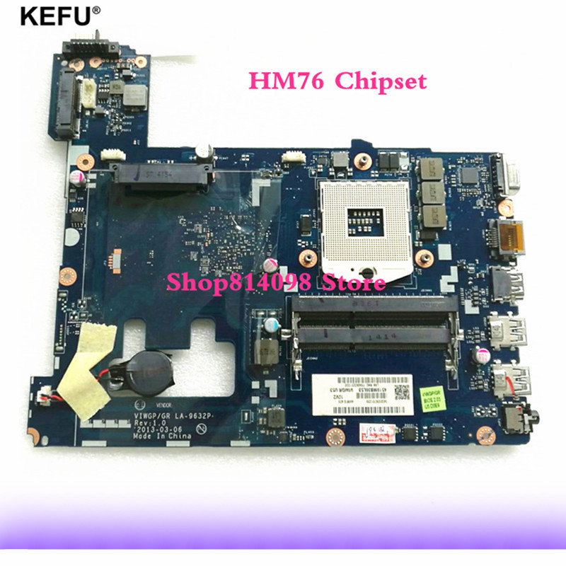 NEW G500 motherboard DDR3 VIWGP/GR LA-9632P DDR3 Free shipping HM70 For Lenovo G500 Laptop Motherboard tested 100% work free shipping new viwgp gr la 9632p card for lenovo g400 notebook motherboard hm70 for pentium cpu only