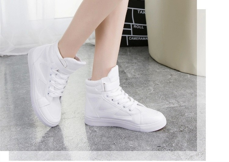 LOVE Fashion High Top Casual Shoes For Women Canvas Shoes 2015 New Autumn Ankle Boots Breathable Ladies Shoes Student Flats YD28 (18)