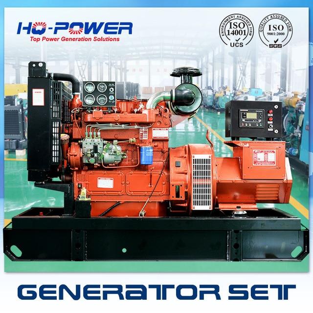 Super Power Generator 20kw 4 Culinders Diesel Engine Small Alternator