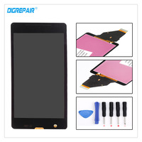 AAA High Quality Black For Sony Xperia ZR M36h C5503 C5502 LCD Display Digitizer Touch Screen
