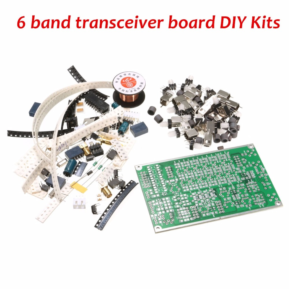 цена DIY Kit 6-band HF SSB Shortwave Radio Transceiver Board With Instruction онлайн в 2017 году