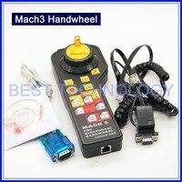 MACH3 CNC USB Electronic Handwheel Manual Controller MODBUS MPG CNC Engraving machine Fittings interface board Pulse generator