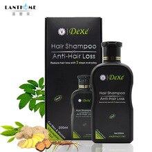 Dexe профессиональный шампунь против выпадения волос, китайский травяной продукт для роста волос, предотвращающий Уход за волосами для мужчин и женщин