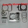 CG150 ZJ150 Actualización Modificado Para CG200 200CC 63.5 MM 64 MM Motocicleta Kits de Cilindro Con Pistón Y 15 MM Pin