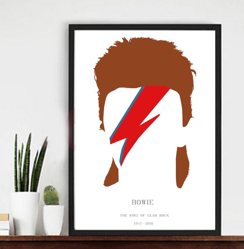 dise/ño de David Bowie Art Studio Bolsa de tela