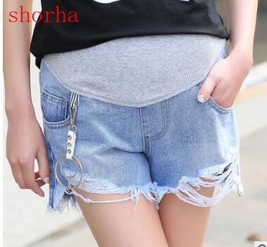 Elastic Waist Denim Maternity Jeans Pregnant Pants Clothes For Pregnant Women Pregnancy Trousers Clothing Plus Size M-XXL