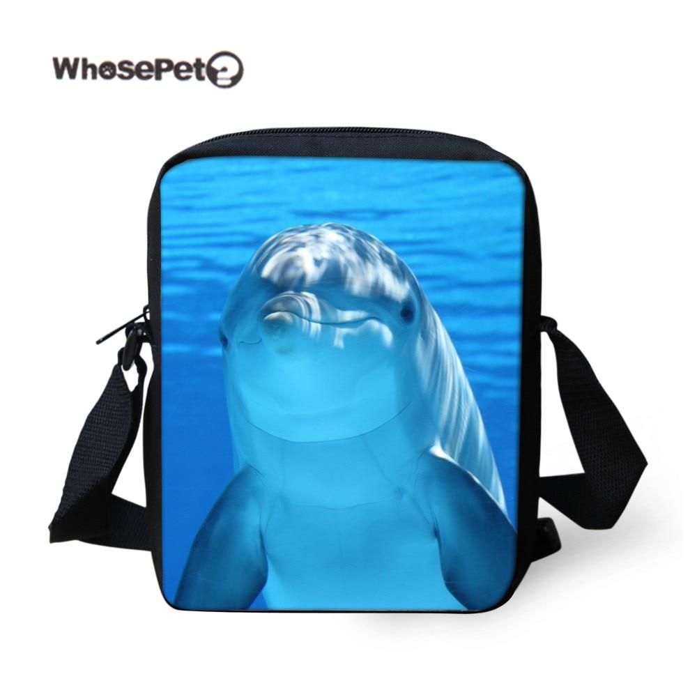 WHOSEPET Delfín Cross-body Purse Satchel Messenger Handbag Women - Bolsos