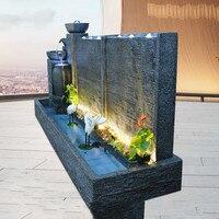 Фонтан воды занавес стены домашний сад украшения Европейский отель сад вилла украшения керамическая ваза крупное украшение