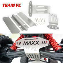 TRAXXAS X-MAXX Upgrade Spare Part Stainless Steel Metal Chassis Protection Plate