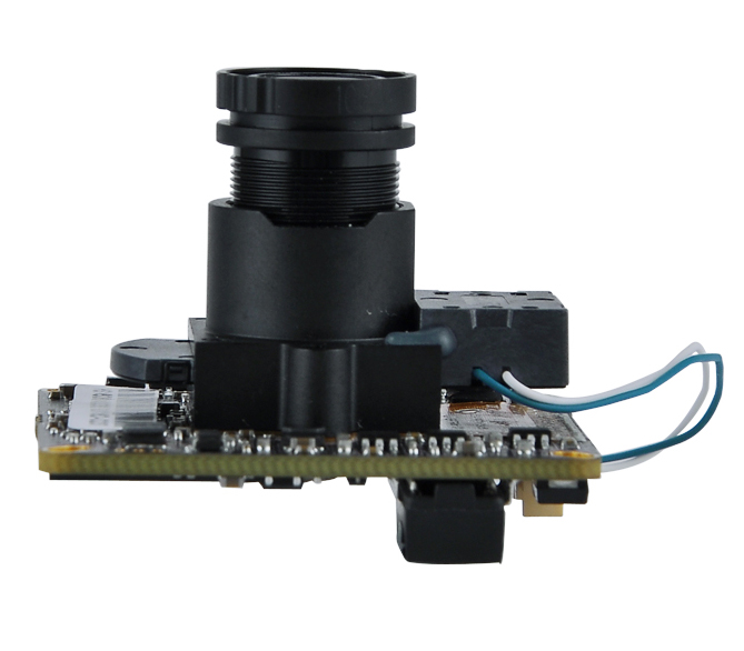 New HD 1080P 2.0 Megapixel H.265 IP Camera CCTV Cmos Module Board + HD IR-CUT +HD3.6MM Lens+Cable support onvif free shipping