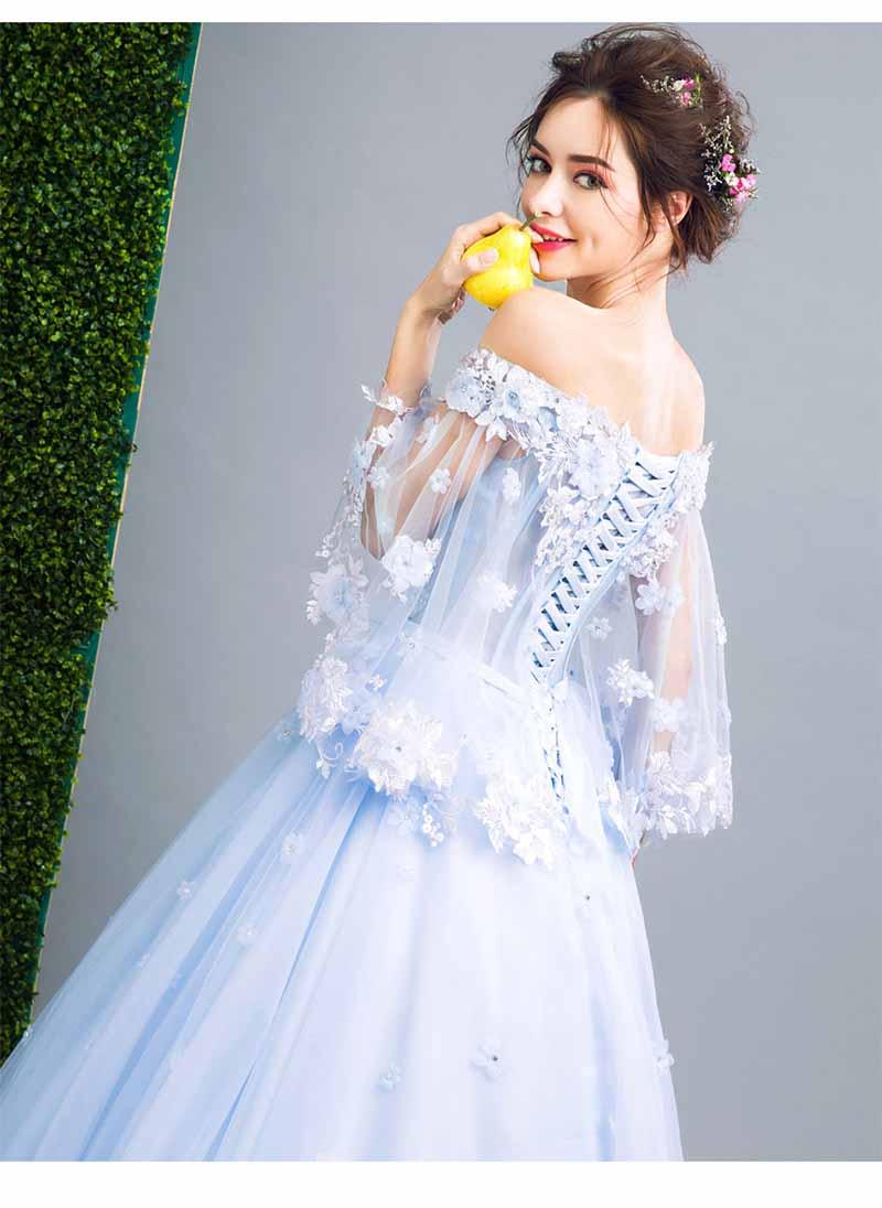 Plus Size 5XL Luxe Sequin Blue Prom Baljurk Avond Party Dress Vrouwen Bruiloft Bruidsjurk Verjaardagscadeau Voor Vrouwen 6XL 4XL-in Jurken van Dames Kleding op  Groep 3
