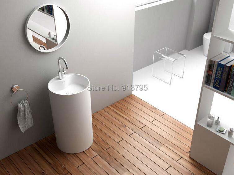 Corian Badezimmer Waschbecken Podest Freistehend Festen Oberfläche Matt  Hand Waschbecken Garderobe Eitelkeit Waschbecken Waschen RS38281