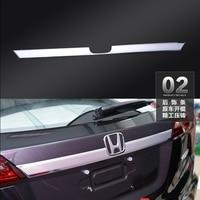For Honda HRV HR V Vezel 2014 2015 2016 ABS Chrome External Rear Tailgate Door Trunk Lid Trim Cover Decorative Car Accessories