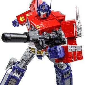 Image 5 - שינוי OP מפקד WJ MPP10 MP10 G1 סגסוגת פעולה איור רובוט רכב Oversize מעוות צעצועי ילדים מתנות
