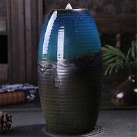 1 pc Smoke Ceramic Holder Incense burner Censer Aromatherapy Sandalwood Backflow Scented Waterfall High Quality