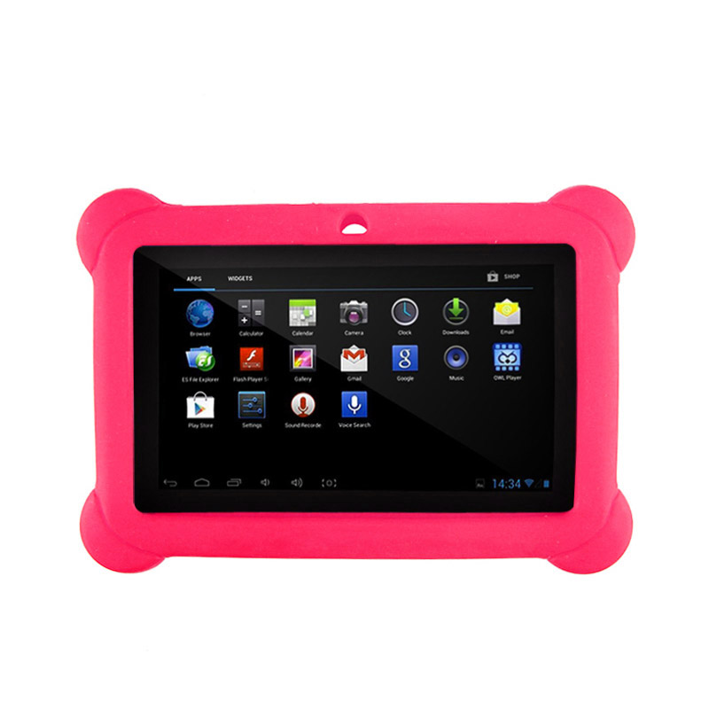 Silicone Gel Protective Back Case Cover For 7 Inch Allwinner A33 A23 Android Tablet Q88 IJS998