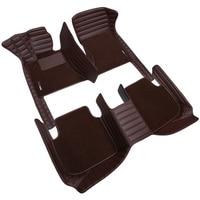 Пользовательские автомобильные коврики высокие эластичные прошивной коврик для BMW F10 F11 F15 F16 F20 F25 F30 F34 E60 E70 E90 1 3 4 5 7 GT X1 X3 X4 X5 X6 Z4