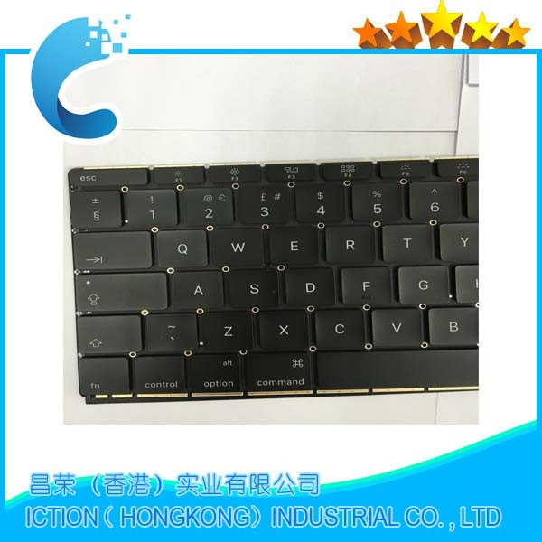 Original New UK keyboard for Macbook Retina 12