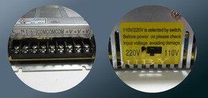 Image 2 - משלוח חינם! דגם חדש 5 V 40A 200 W החלפת ספק כוח נהג תצוגת LED אור הרצועה AC110V/220 V ספק מפעל