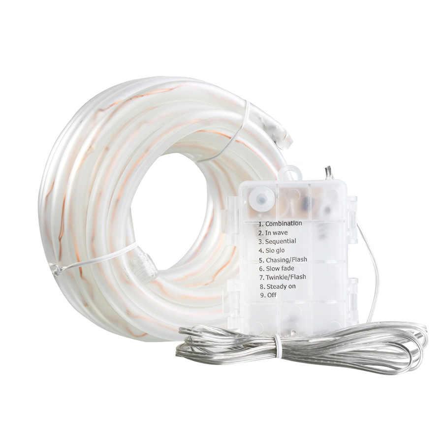 100 LED s LED chaîne lumières LED étanche lumières de noël batterie alimenté intérieur décoration corde lumière pour fête de mariage vacances