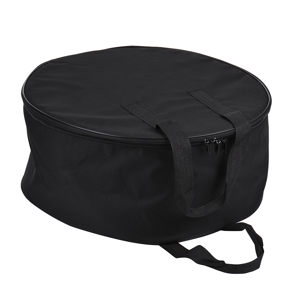 55cm Beauty Dish Carry Case Bag Studio Equipment Bag Two layer Design Drum Style with Honeycomb Grid Divider (54 56cm)-in Photo Studio Accessories from Consumer Electronics    3