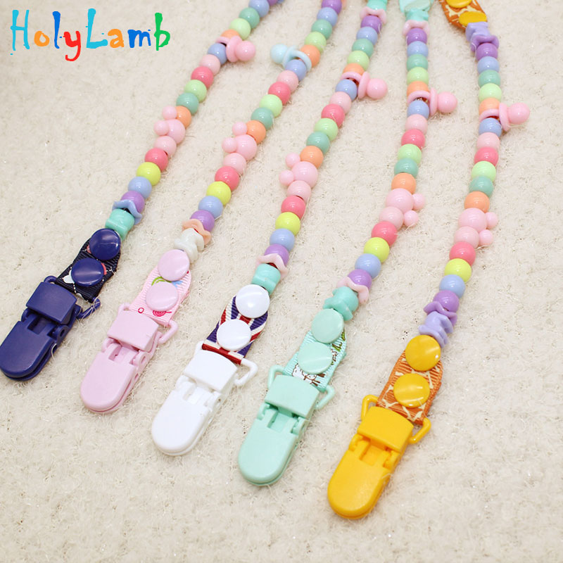 1pcs Baby Pacifier Chain Clip Feed Пупификаторлар Baby - Азықтандыру - фото 5