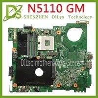 KEFU N5110 motherboard For DELL inspiron 15R N5510 CN 0G8RW1 0G8RW1 G8RW1 HM67 DDR3 original Test motherboard original 100% work