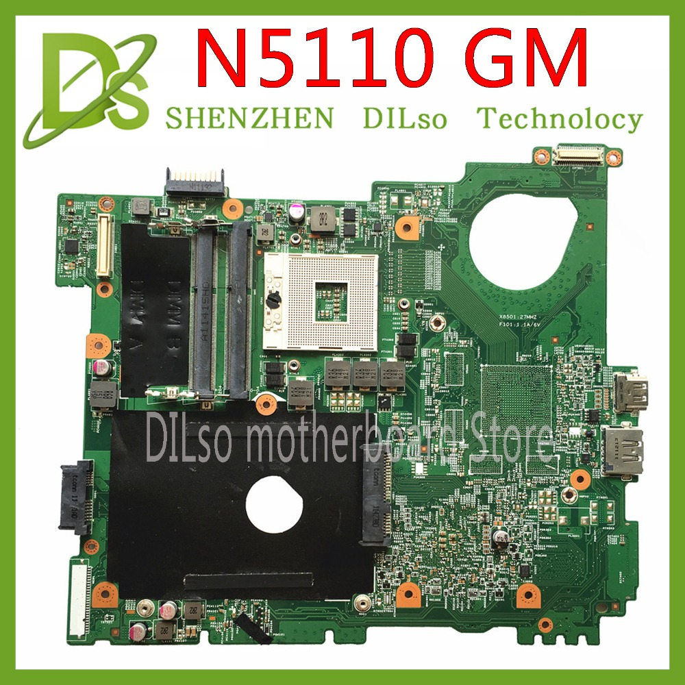 KEFU N5110 Motherboard For DELL Inspiron 15R N5510 CN-0G8RW1 0G8RW1 G8RW1 HM67 DDR3 Original Test Motherboard Original 100% Work