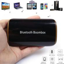 Portable Wireless Stereo Bluetooth 4.1 + EDR Receiver Audio Music Box with Mic 3.5mm RCA 300mAh for Car Speaker Computer TV pc
