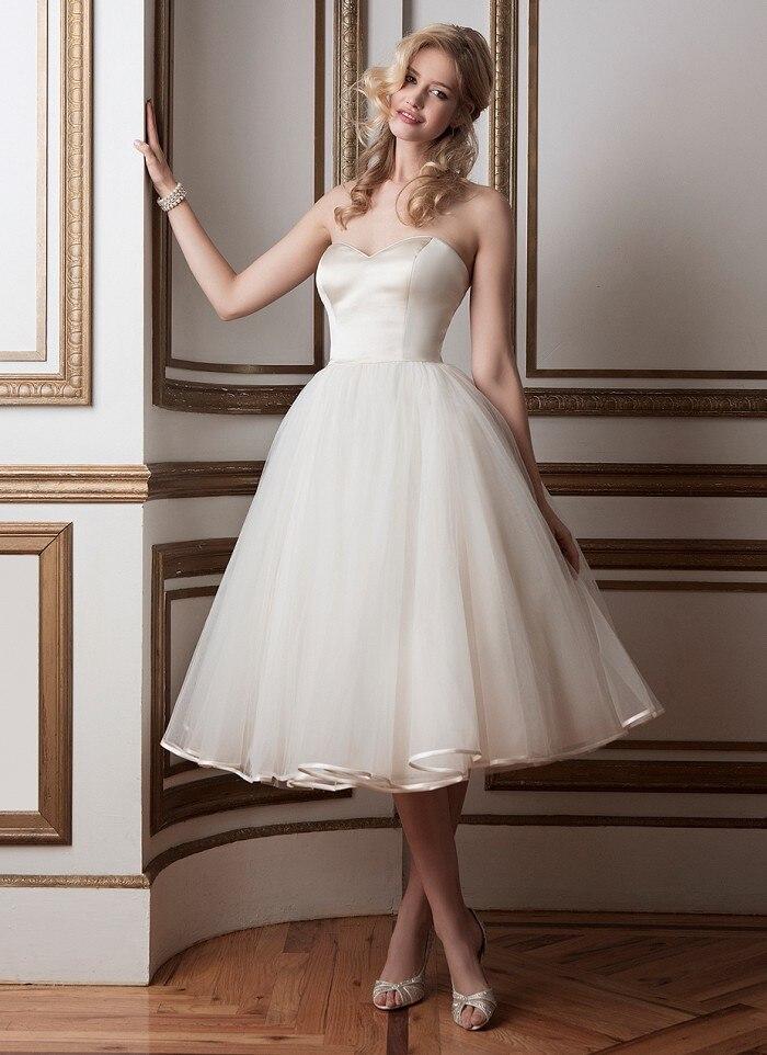 77b475447 Vestidos de novia cortos 2016 – Vestidos blancos