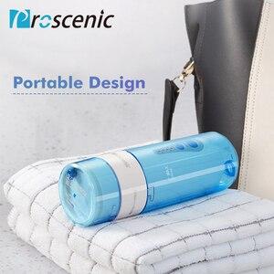 Image 5 - Proscenic sin agua Flosser hilo irrigador Oral USB recargable Dental irrigador Oral IPX7 de chorro de agua a los dientes limpios.