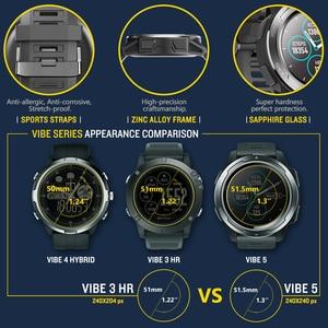 Image 5 - Zeblaze VIBE 5 Smart Watch Men 1.3 Color Screen Pedometer Fitness Bracelet Tracker IP67 Waterproof Heart Rate Monitor Smartwatch