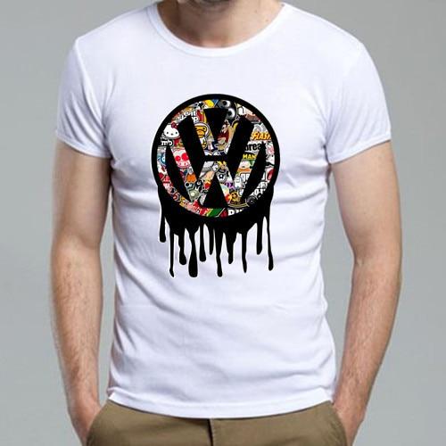new 2014 men 39 s summer t shirt vw bomb funny tshirt man. Black Bedroom Furniture Sets. Home Design Ideas