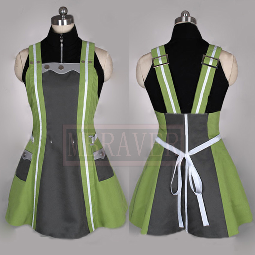 God Eater 2 Cannon Daiba Kanon Party Cosplay Anime Costume Custom Made