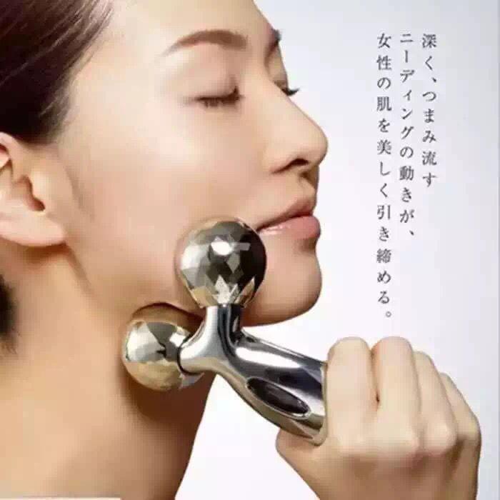 Sottile viso artefatto viso sottile di macchina a rulli V viso massaggiatore strumento per il doppio mento viso magro massaggio muscolare magra 3 d palla