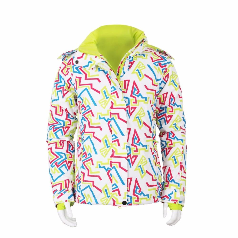 New waterproof windproof Woman Winter clothing   skiing/Snow/skate Warm Snowboard Jackets Climbing Wear Mountaineering Suit