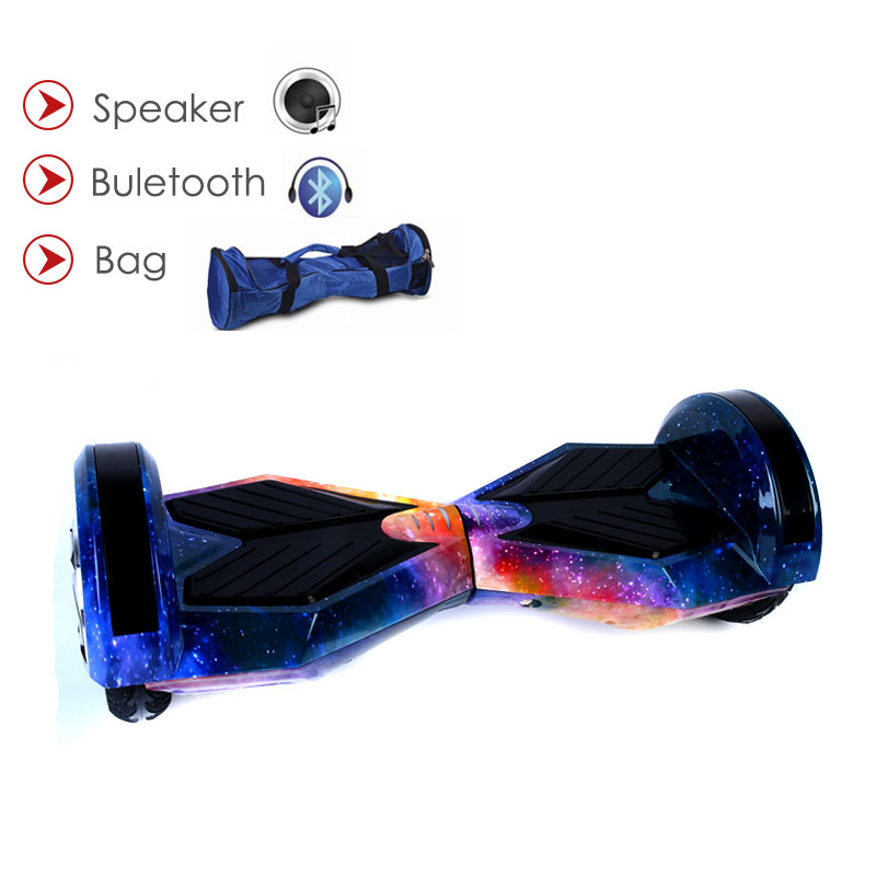 Self balancing Hoverboard or two wheels skateboards with Bluetooth and LED light for Adults 5