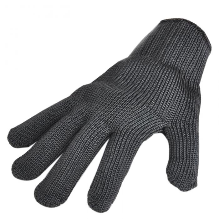цена на Gloves Proof Protect Stainless Steel Wire Safety Gloves Cut Metal Mesh Butcher Anti-cutting breathable Work Gloves self defense