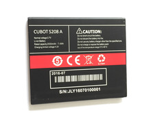CUBOT S208A battery 2000mAh 100% Original Replacement accessory For CUBOT S208A Cell Phone + cubot p9 panel cubot p9 100