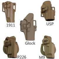 Jagd Rechts Hand Pistol Gun Holster für Glock17 19/USP/Colt 1911/M9/SIG P226 Taktische airsoft Kampf Ausbildung Holster