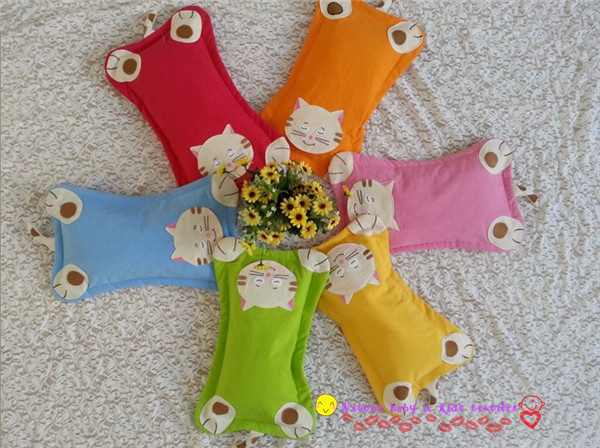 Small Size Free Shipping Baby Pillow Cartoon Cat Buckwheat