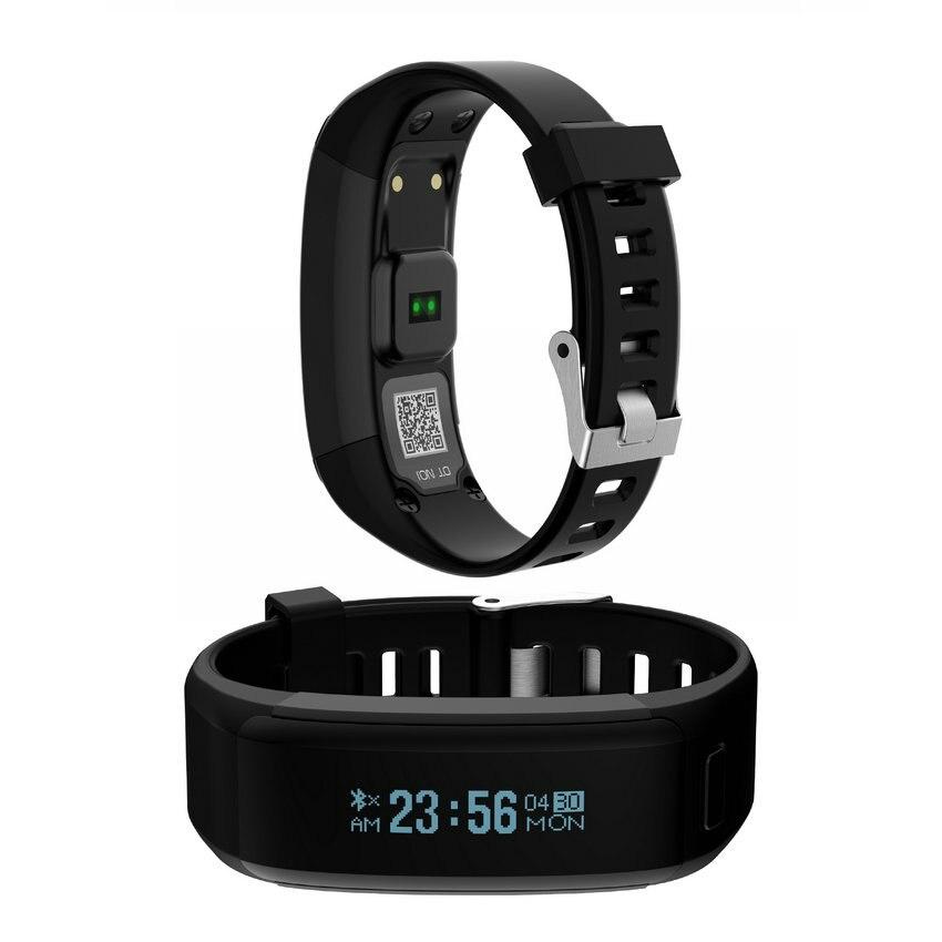 NO. 1 Smartband F1 Impermeabile Braccialetti In Silicone Sport Braccialetto Intelligente Per Android iOS Monitor della Frequenza Cardiaca VS Per Xiaomi 2