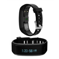 NO.1 Smartband F1 Waterproof Silicone Wristbands Sports Intelligent Bracelet For Android iOS Heart Rate Monitor VS For Xiaomi 2