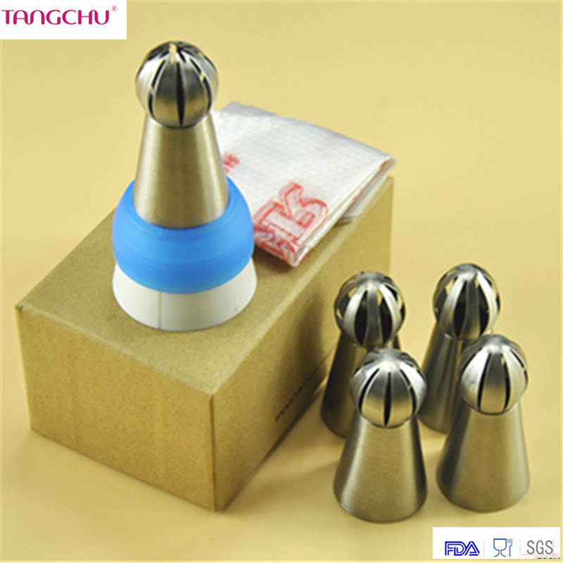 Aliexpress.com : Buy 5pc/set Tips Russian Piping nozzle ...