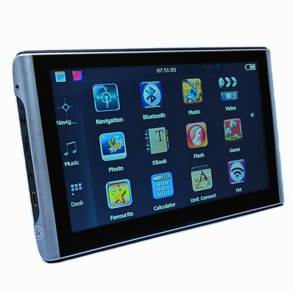 """"""" автомобильный gps-навигатор 8G SAT NAV CPU800M+ FM+ бесплатные карты, Bluetooth AV-IN и беспроводная камера заднего вида на выбор - Размер экрана, дюймов: With bluetooth AV-IN"""