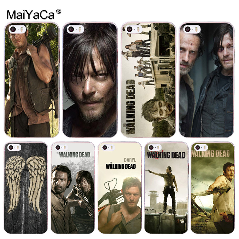 MaiYaCa the walking dead Coque Shell Phone Case for iphone 11 Pro 8 7 6 6S