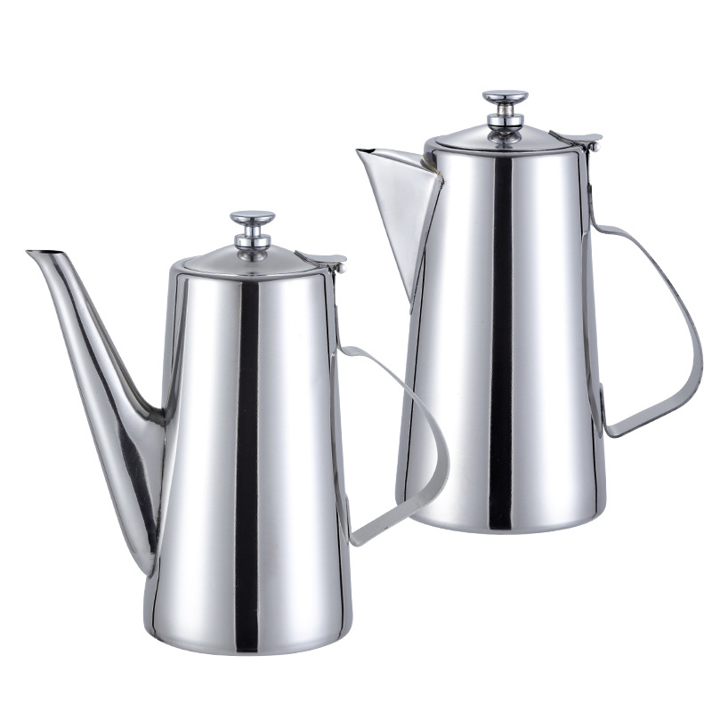 Stainless Steel Cold Water Kettle Restaurant Special Kettle Teapot Non-magnetic Coffee Pot Kitchen Utensils Drinking Utensils kettle